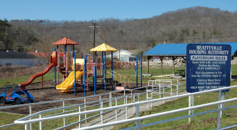 Photo of playground.