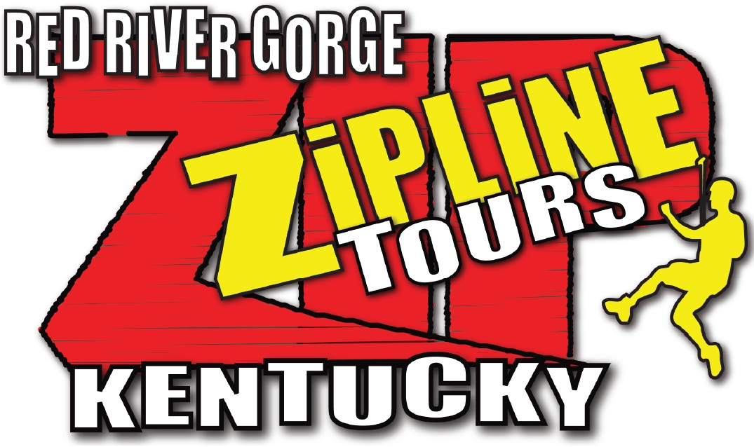 Logo of the Red River Gorge Zipline.